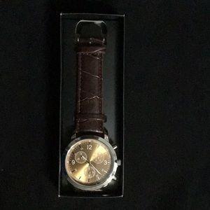 Men's Modern Espresso Watch